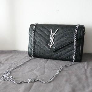YSL 8 x 5 x 1.5 black s